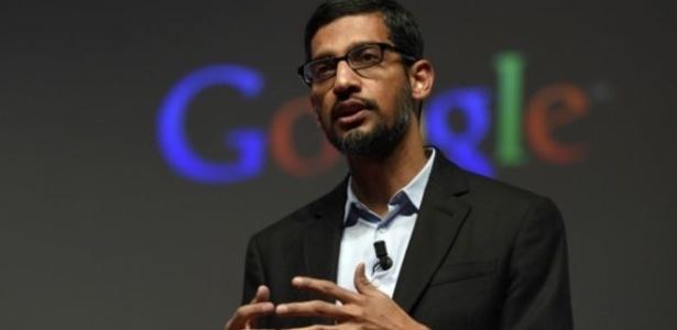 Sundar Pichai é o novo presidente do Google - AFP