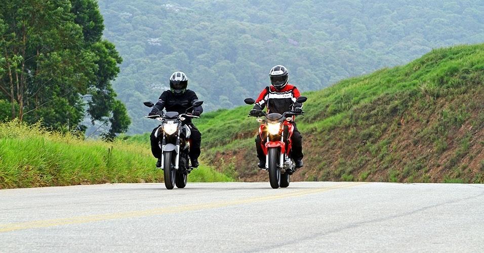 Honda CB Twister vs. Yamaha Fazer 250
