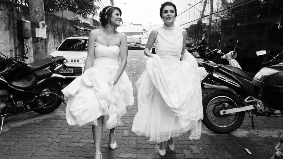 O número de casamentos LGBT tem crescido no Brasil - Divulgação/Gataria