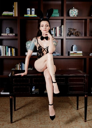 """""""Playboy"""" divulga foto de Marina Dias, sua capa da edição de junho/julho da revista - Divulgação/Playboy"""