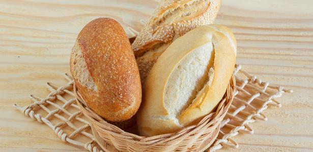 Pães produzem 50g de gás carbônico para cada 100 calorias ingeridas
