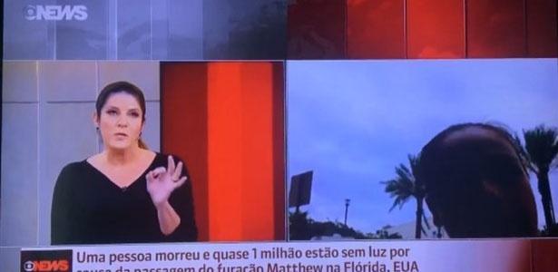 """Christiane Pelajo reclamou de falhas no telejornal """"Edição das 16h"""", do GloboNews - Reprodução"""