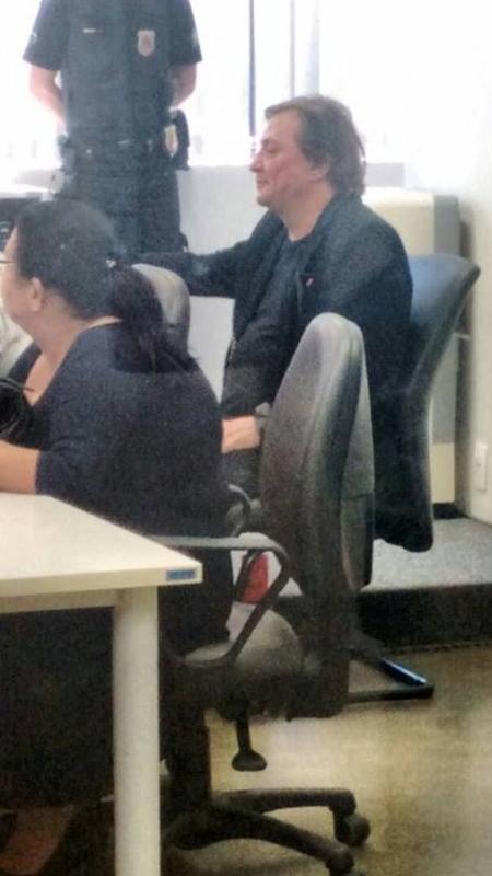 Fabio Jr. depõe em Tribunal na Barra Funda sobre ação trabalhista - Arquivo pessoal