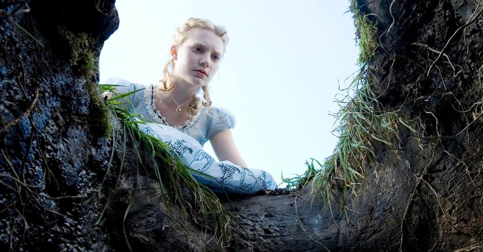 """Cena do filme """"Alice no País das Maravilhas"""" (2010), de Tim Burton"""