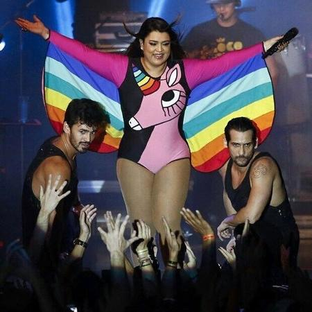 Preta Gil, que se manifestou sobre o Dia Internacional contra a Homofobia em seu Instagram - Reprodução/Instagram