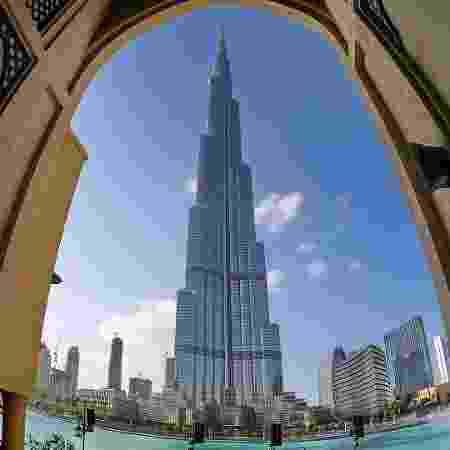 Burj Khalifa, prédio mais alto do mundo que fica em Dubai, nos Emirados Árabes Unidos - BS1920/Creative Commons