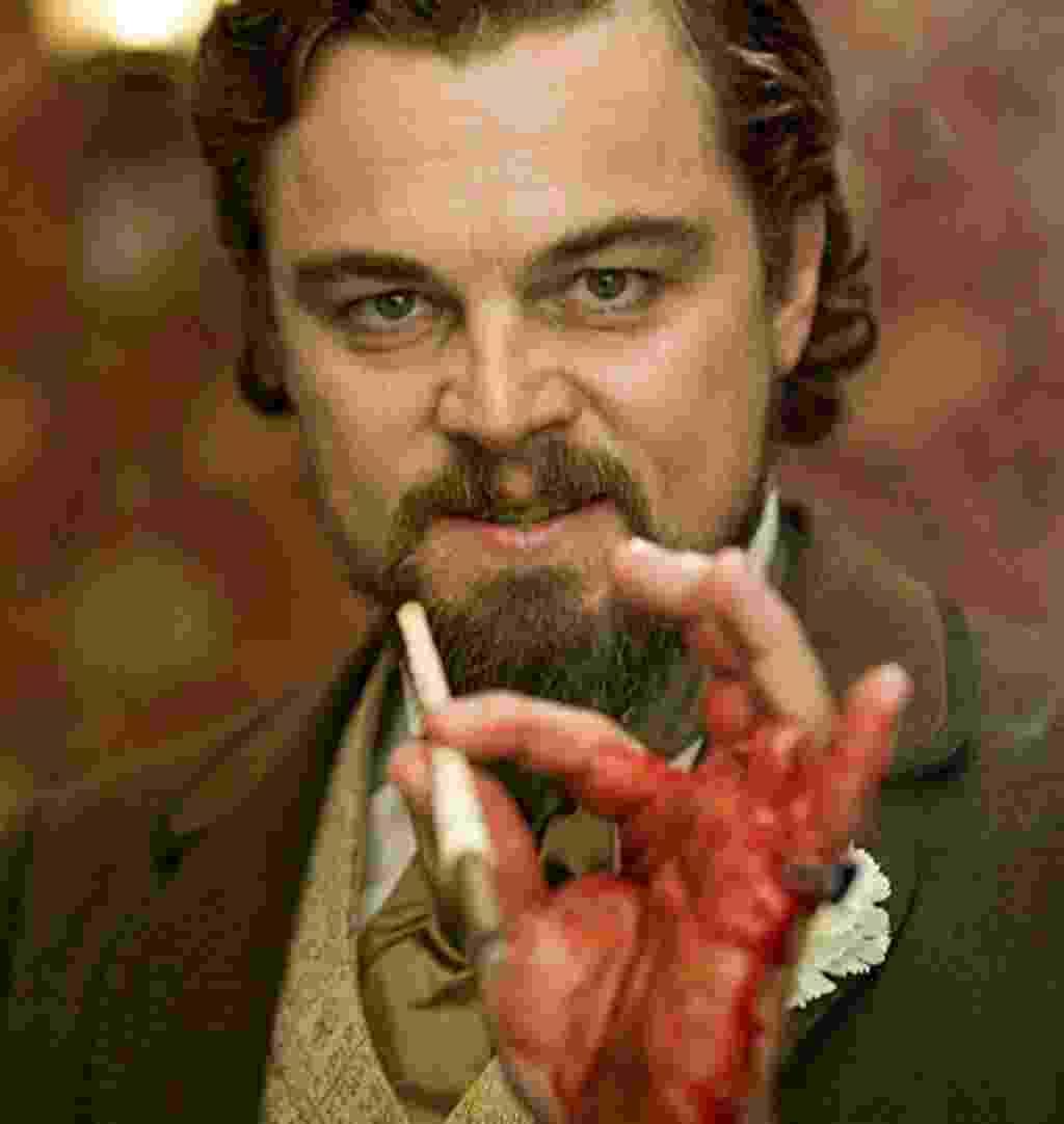 """Leonardo DiCaprio em cena de """"Django Livre"""" (2012) - Divulgação"""