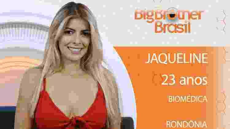 Jaqueline do BBB18 - Divulgação/TV Globo - Divulgação/TV Globo