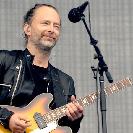 Thom Yorke, vocalista do Radiohead - Shirlaine Forrest/Getty Images