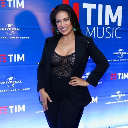 A cantora Simone, da dupla com Simaria - Roberto Filho/Brazil News