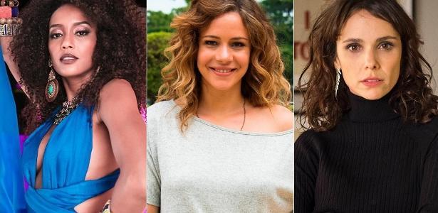 Taís Araújo, Leandra Leal e Débora Falabella