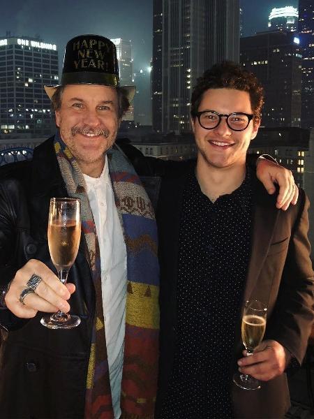 Filho do ator Antônio Calloni comemora sucesso nos EUA - Reprodução/Instagram/pedrocalloni