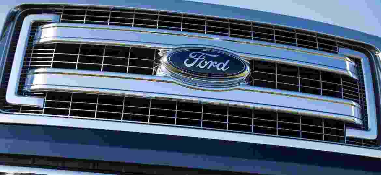 Logotipo da Ford em picape F-Series - Divulgação