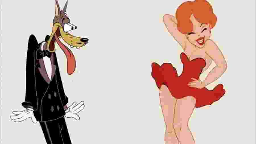 O lobo de Tex Avery - Reprodução