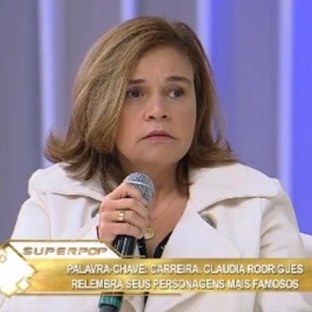 Claudia Rodrigues anuncia volta ao trabalho no Superpop - Reprodução/RedeTV