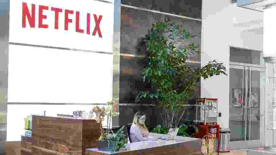 Escritório da Netflix em Los Gatos, na Califórnia - Divulgação/Nteflix