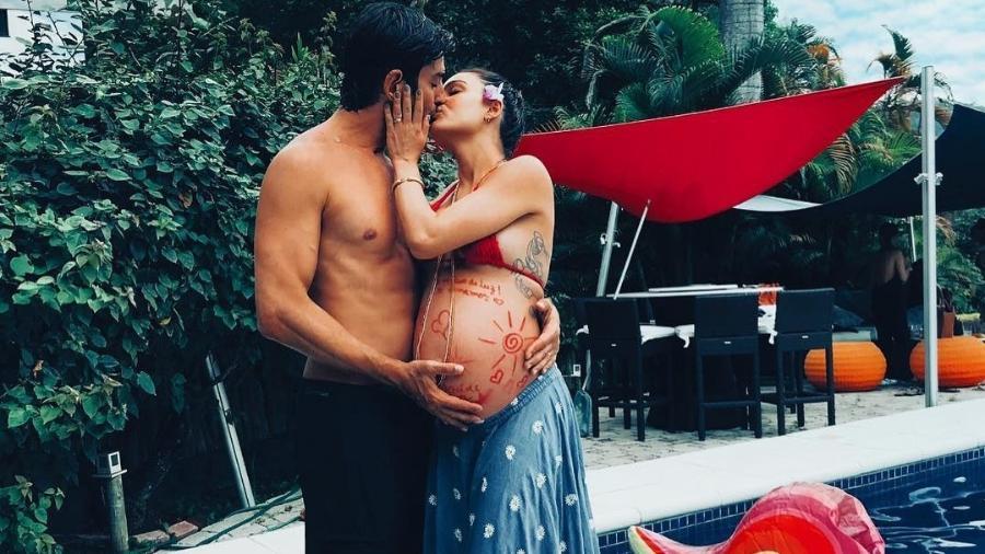 Isis Valverde com o marido, André Resende - Reprodução/Instagram