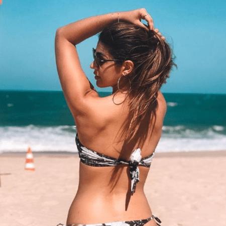 Vivian Amorim curte praia em Fortaleza, no Ceará - Reprodução/Instagram