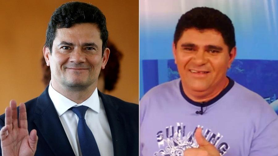 O juiz e futuro ministro da Justiça Sergio Moro e o humorista Batoré - Montagem/UOL/Adriano Machado/Reuters/Reprodução