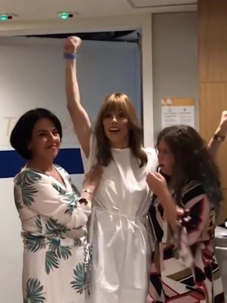 Ana Furtado comemora fim da radioterapia  - Reprodução/Instagram