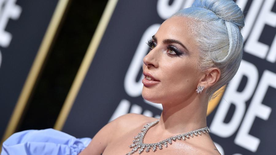 As joias usadas por Lady Gaga no Globo de Ouro - Getty Images