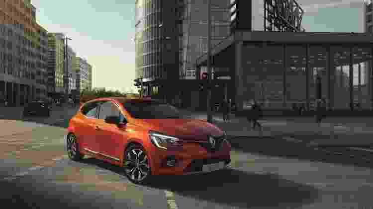 Novo Renault Clio - Divulgação - Divulgação