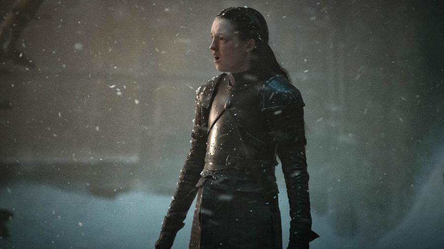 """Bella Ramsey como Lyanna Mormont em """"Game of Thrones"""" - Divulgação"""