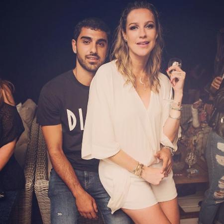 Luana Piovani com o namorado Ofek Malka - Reprodução/Instagram