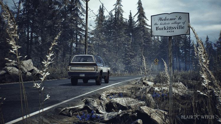 Blair Witch estrada - Divulgação - Divulgação