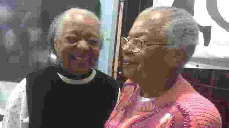 Dona Edite e dona Zazá vão todas às terças-feiras no Zé do Batidão - Nathália Geraldo