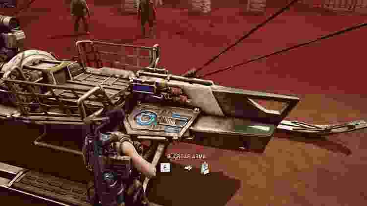 Gears 5 Bote de Armas - Reprodução - Reprodução