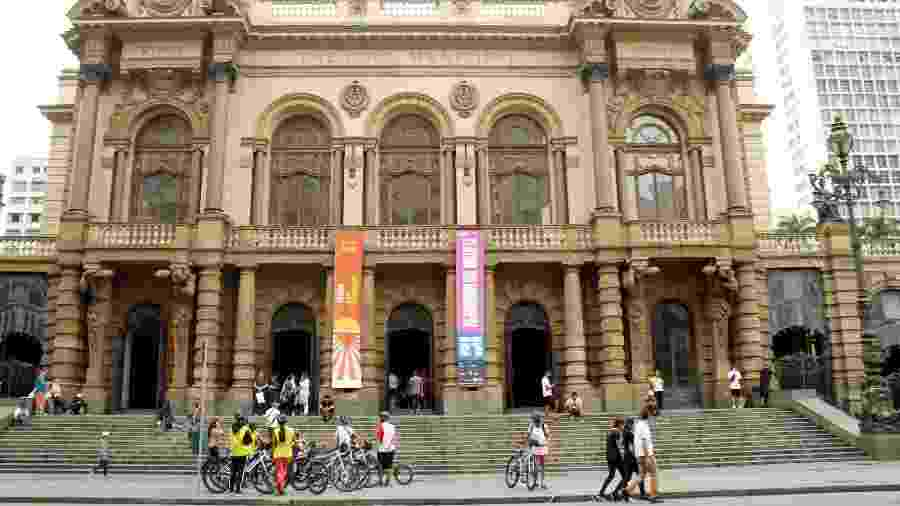 Teatro Municipal, em São Paulo - Eduardo Vessoni/UOL