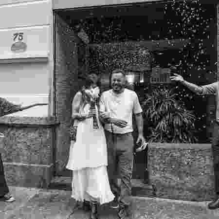 Marcelo D2 se casou com Luiza Machado - Reprodução/Instagram