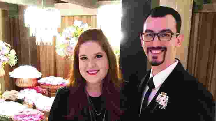 Gabriella Dias e Diego Noura casal coronavírus - Arquivo Pessoal - Arquivo Pessoal