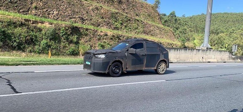 Nos últimos meses, novo SUV da marca tem aparecido sob camuflagem rodando em diferentes localidades do Brasil; base será a mesma do Argo - Cloud of Vape/Acervo Pessoal