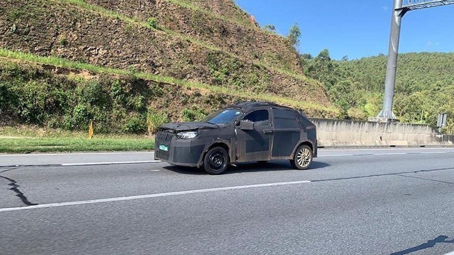 Novo SUV da Fiat já foi flagrado rodando pelas ruas - Cloud of Vape/Acervo Pessoal