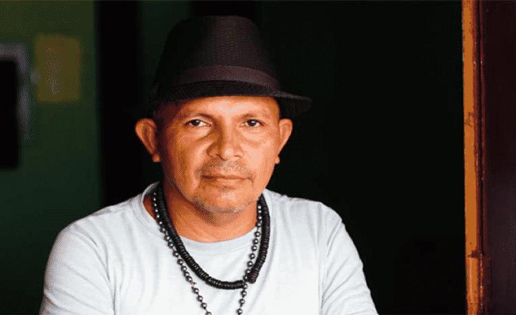 """Gerdeonor Pereira, presidente da Acorjuve, a associação comunitária local: """"Se a gente não tivesse ocupado a sede da mineradora em 2009, e se não tivesse sido protegido por lei, a Alcoa não estaria nos pagando, porque o capital não se ajoelha diante de ninguém"""" - Thaís Borges - Thaís Borges"""