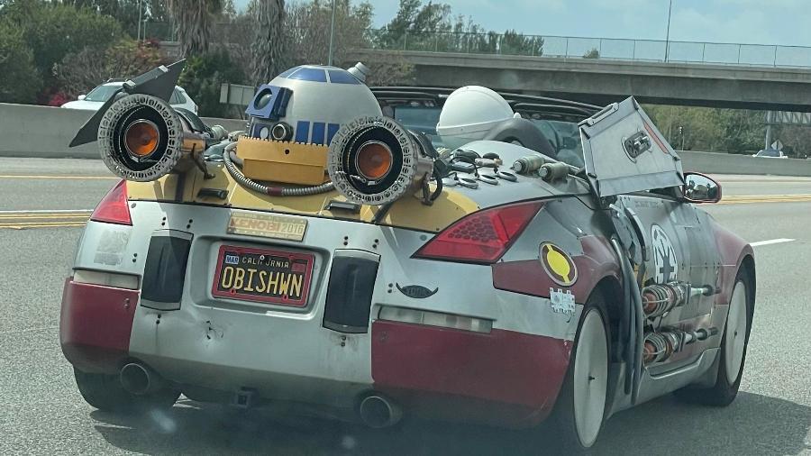 Nissan 350Z temático do filme Star Wars - Reprodução