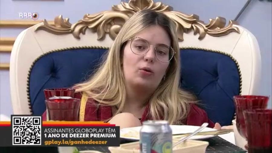 """BBB 21: Viih diz que público pode ter """"rancinho"""" - Reprodução/Globoplay"""
