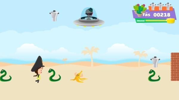 """Tela do jogo """"Vai Juliette"""", desenvolvido e publicado pelo fã Ittalo Ornilo"""