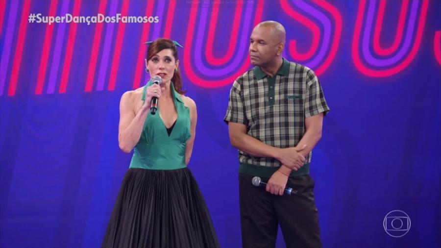 """Christiane Torloni na """"Super Dança dos Famosos"""" - Reprodução/Globo"""