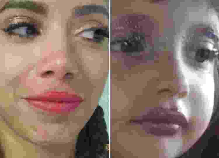 Anitta imita meme de menininha maquiada - Reprodução/Instagram - Reprodução/Instagram