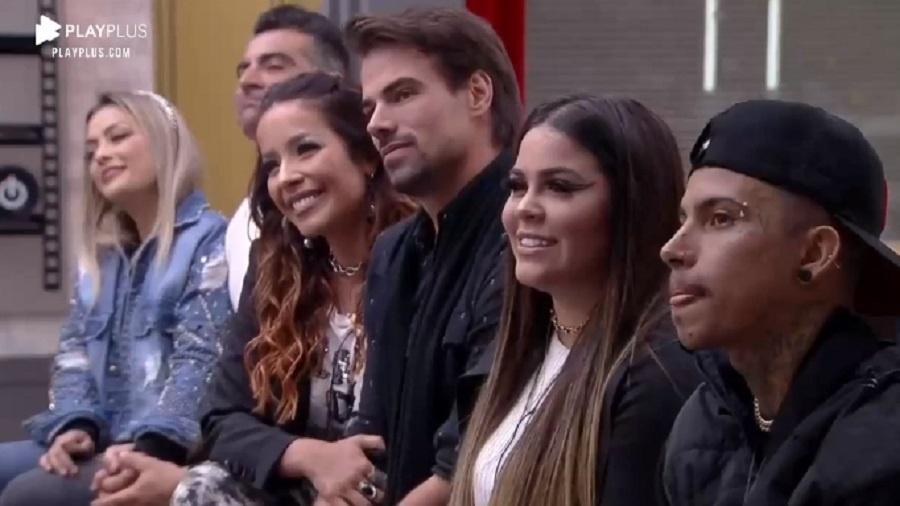 Power Couple: Li e JP, Mari e Matheus e Renata e Leandro estão na 10ª DR - Reprodução/RecordTV