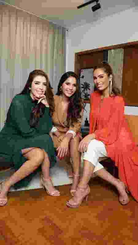 """Gizelly Bicalho e as irmãs Izabella e Bruna Borges: elas são as criadoras do curso """"Sentinelas: empoderamento feminino"""" - Roberto Trumpas - Roberto Trumpas"""