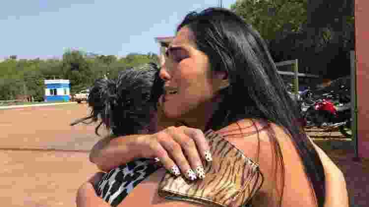 Katleen chegou a se mudar para Puerto Iguazú em janeiro na expectativa de reencontrar a mãe - Luciana Taddeo/UOL - Luciana Taddeo/UOL