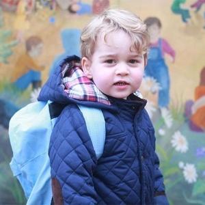 Príncipe George indo pela primeira vez para à escola - Reprodução/Instagram