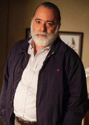 """Tony Ramos como o Zé Maria de """"A Regra do Jogo"""" - Pedro Curi/TV Globo"""