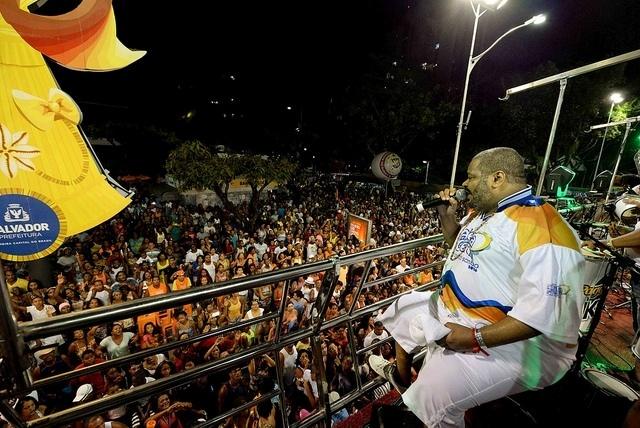 Arlindo Cruz no Carnaval de Salvador