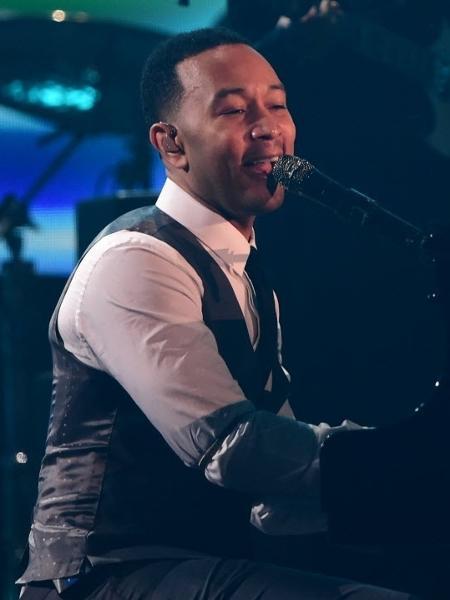O cantor e compositor John Legend - Robyn Beck/AFP Photo