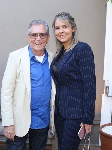 Carlos Alberto de Nóbrega e Renata Domingues - Thiago Duran/AgNews